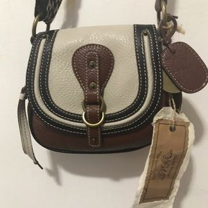 Vintage Nine West Weaved Crossbody Bag NWT